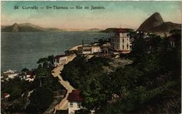 CPA RIO DE JANIERO Curvello. Sta Thereza. BRAZIL (a4784) - Brasil