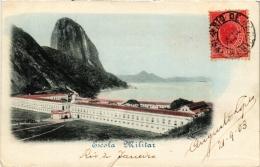 CPA RIO DE JANIERO Escola Militar BRAZIL (a4791) - Brasil