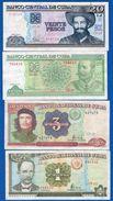 Cuba  8  Billets - Cuba