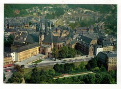LUXEMBOURG - Vue Aérienne. - Luxembourg - Ville