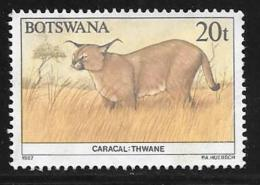 Botswana, Scott # 414 Used Wildlife Conservation, 1987 - Botswana (1966-...)