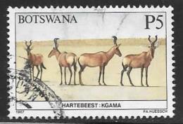 Botswana, Scott # 423 Used Wildlife Conservation, 1987 - Botswana (1966-...)