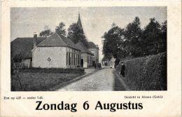 Gezicht In ALMEN Calendar Card NETHERLANDS (603244) - Andere