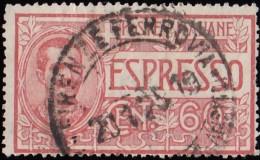 ITALY - Scott #E3 Victor Emmanuel III (*) / Used Stamp - 1900-44 Vittorio Emanuele III