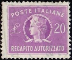 ITALY - Scott #EY9 Italia (*) / Used Stamp - 1900-44 Vittorio Emanuele III