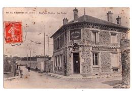 D77 - CROSNES - S&O - Rue Des écoles - La Poste - ( M.Mulard Phot. édit. à Yerres ) - N° 381 Bis - Crosnes (Crosne)