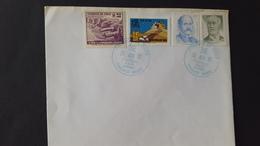 Chile 1992 Antarctic Base Teniente Marhs Souvenir Cover - Stamps