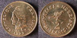VANUATU  Nouvelles New HEBRIDES  2 Francs 1979   Port Offert - Vanuatu