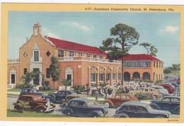 Florida St Petersburg The Pasadena Community Church Curteich
