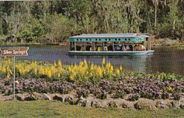 Florida Silver Springs Glass Bottom Boat