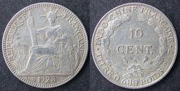 INDOCHINE  10 Cent 1923  INDOCINA  INDO-CHINA  PORT OFFERT - Laos