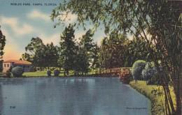 Florida Tampa Scene In Robles Park