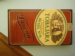 GREECE EMPTY TOBACCO BOXES IN DRACHMAS  TOBAJARA - Boites à Tabac Vides