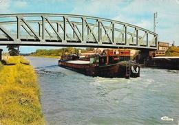 Ribécourt (Oise) - Le Pont Sur Le Canal De L'Oise, Péniche - Edition Combier - Carte CIM Non Circulée - Frankrijk