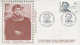 Enveloppe   Hommage  à   André   MALRAUX    LA  FARLEDE   1997 - Seconda Guerra Mondiale