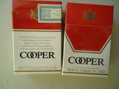 GREECE EMPTY TOBACCO BOXES IN DRACHMAS  COOPER - Boites à Tabac Vides