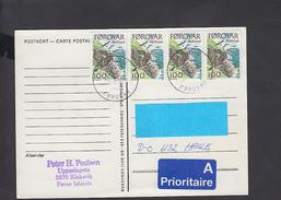 ISOLE FAROER 1993 -  Cartolina Per Germania -  Uccelli - Féroé (Iles)