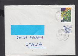 ISLANDA  1988 - Lettera Per  Italia - 1944-... Repubblica