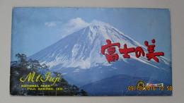MONT FUJI Au JAPON / 8 C.P. 28,3 X 16 Cm EN POCHETTE - Japon