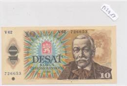 Billets -B2917-Tchécoslovaquie - 10 Korun 1986 (type, Nature, Valeur, état... Voir  Double Scans) - Tchécoslovaquie