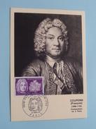COUPERIN François 1668 - 1733 Compositeur : Stamp Paris 1968 ( Zie Foto's ) Ed. G. Parison / B. Régnier ! - Maximum Cards