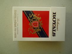 GREECE EMPTY TOBACCO BOXES IN DRACHMAS  ROTHMAS ROYAL - Boites à Tabac Vides