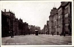 Cp Northampton Northamptonshire England, Abington Street, Straßenpartie In Der Stadt - Altri