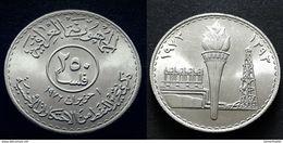 IRAQ : 250 FILS - Commemorative Issue  Oil Nationalization - UNC - 1973 - 1393 /  KM 138 - Iraq