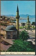 °°° 2097 - TURKEY - IZMIR - KONAK CAMII VE SAAT KULESI - 1974 With Stamps °°° - Turchia