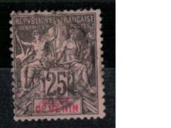 BENIN      N°  YVERT     27  OBLITERE       ( O   2/26 ) - Bénin (1892-1894)