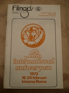 Film Internationaal Antwerpen 1973 Bijzondere Uitgave - Magazines & Newspapers