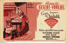 Buvard  -    Biscuits   GESLOT-VOREUX        Ronchin-les-Lille - Non Classés