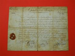 1793-94 Armée Des Pyrénées Orientales Bataillon De Montagne Catalunya Révolution Caporal Prise Fort Bellegarde Le Boulou - Documents Historiques
