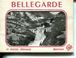 N°60347 -petit Carnet Vues De -Bellegarde- - Bellegarde