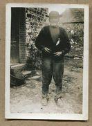Phtographie Privée Bretagne Homme Costume Huelgoat ? - Personnes Anonymes