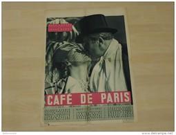 Affiche Originale De Cinéma Sortie En1938 Café De Paris-Yves Mirande-Jules Berry-Vera Koréne-Simone Berry - Plakate