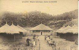 Mission Catholique - Station De Sourré (002343) - Äthiopien