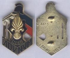 Insigne Du 6e Régiment Etranger De Génie - Army