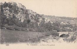CPA - Varages - Le Pont Et Vue Générale - France