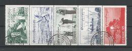 Sweden 1977 Evert Taube Strip Y.T. 965/969 (0) - Sweden