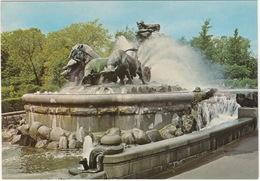 Kopenhagen - Der Gefion Springbrunnen - Copenhagen - The Gefion Fountain - (DK) - Denemarken