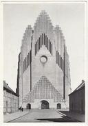 København - Grundtvigs Kirke: Tarnfronten  - Copenhagen - The Tower Front - Grundtvig's Church  - (DK) - Denemarken