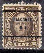 USA Precancel Vorausentwertungen Preo, Bureau New York, Falconer 653-61 - United States