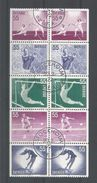 Sweden 1972 Sports Strip Y.T. 716a/720a (0) - Sweden