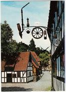 Århus - 'Den Gamly By': Drejerens Skilt 'S.A. Bang' , Naestved - The Turner's Sign 'S.A. Bang'' 1850-1900 Naestved -(DK) - Denemarken