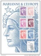 (12929).France 2011, Y&t N° 4614/4620**.   Bloc Marianne Et L'Europe, émis à L'occasion Du Salon Philatélique D' - 2008-13 Marianne De Beaujard
