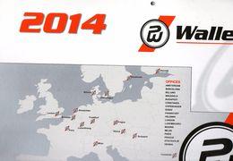 GRAND CALENDRIER 2014 - Transporteur Routier - WALLENBORN - Luxembourg - Calendars