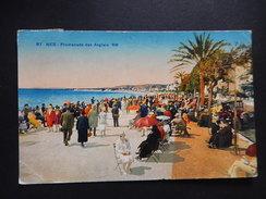 CPA (06) - RARE - 1929 - NICE - PROMENADE DES ANGLAIS  RM -  BELLE ANIMEE - COLOREE - R9696 - Nice