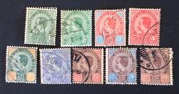 Siam 1900 Yvert Et Tellier N°32 à 40 - Siam