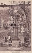 SAINT VALLIER-de-THIEY.  Colonne NAPOLEON - (Menuiserie A. ROLAND à L'arrière). - France
